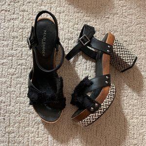 Heeled Wooden Sandals